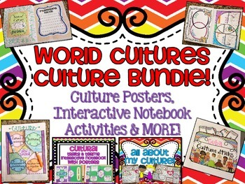World Cultures BUNDLE of Culture Activities