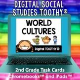 World Cultures Digital Social Studies Toothy® Task Cards |