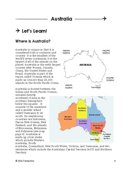 Explorer World Cultures & Geography - Voyage VI: Oceania & Antarctica