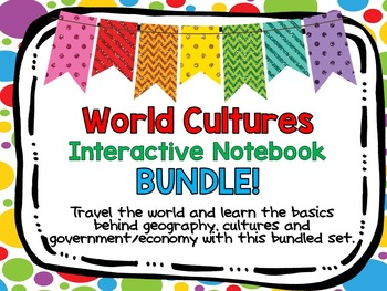 World Cultures Interactive Notebook