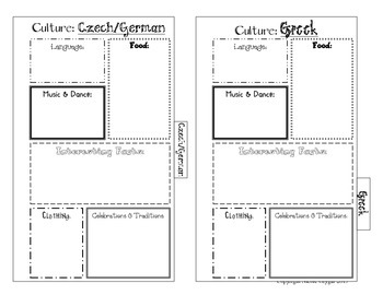 World Cultures Tab Book