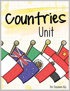 Countries Unit, Cultures Around the World