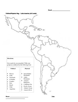 World Cultures and Geography – LATIN AMERICA