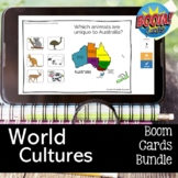World Cultures or Geography Boom Card Bundle