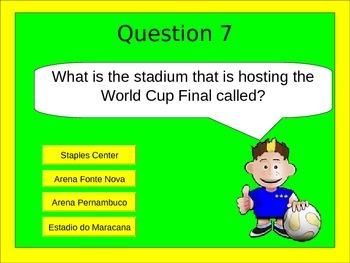 World Cup 2014 PowerPoint Quiz