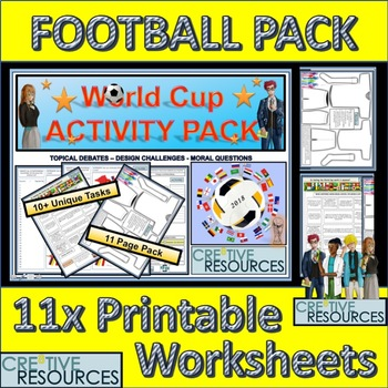 Football 2018 Activity Pack