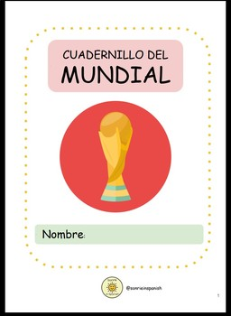 World Cup 2018 Booklet- Mundial 2018 Cuadernillo