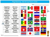 World Cup 2018 Countries Flags Matchup Puzzle Sheet PE Sports