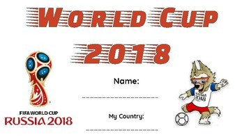 World Cup 2018 Country Project