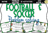 World Cup 2018 Football / Soccer Problem Solving Questions
