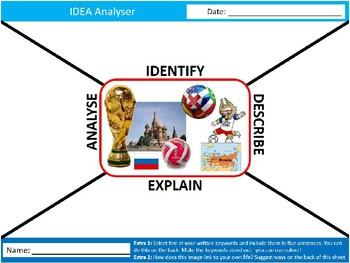 World Cup 2018 IDEA Analyser Sheet Starter Activity Keywords PE Sports