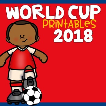World Cup 2018 Printables