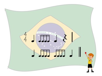 World Cup - A 2 Bar Rhythm Challenge Game to Practice Sixteenth Notes