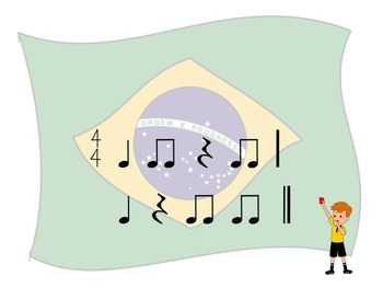 World Cup - A 2 Bar Rhythm Challenge Game to Practice Ta, Ti-Ti and Z