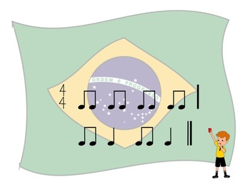 World Cup - A 2 Bar Rhythm Challenge Game to Practice Ta and Ti-Ti