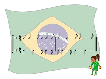 World Cup - A 2 Part Rhythm Challenge Game to Practice Syn-co-pa