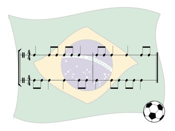 World Cup - A Bundle of Four Two-Part Rhythm Challenge Games