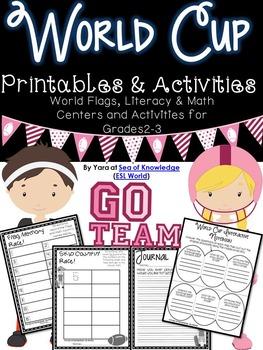 World Cup Activities & Printables {Grades 2-3}