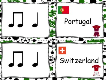 World Cup Brazil 2014 Text to Rhythm Matching - Ta and Ti-Ti