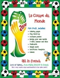 World Cup Brazil:  Everything Soccer in FRENCH!