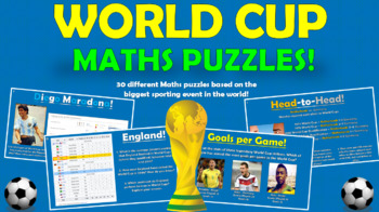World Cup Maths Puzzles!