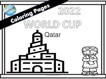 World Cup Russia 2018 Coloring Pages