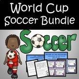 World Cup Soccer Bundle - Math, ELA, STEAM, Powerpoint