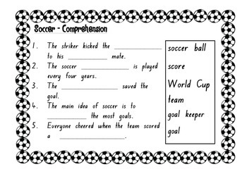 World Cup Soccer Activities