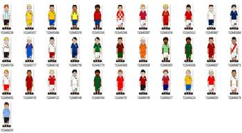 World Cup Teams Clip Art Pack