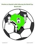 World Cup activity book to practice Español