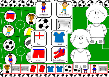 World Cup football activity pack