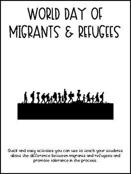 World Day of Migrants & Refugees