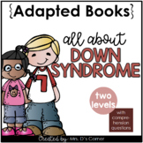 World Down Syndrome Day Adapted Books [Level 1 and Level 2
