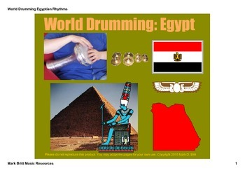 World Drumming: Egypt - A SMARTboard Musical Journey