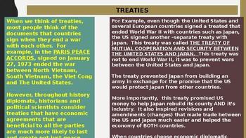 World Economics Part 4 - Diplomacy