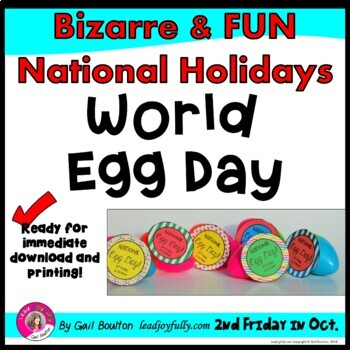 World Egg Day (2nd Friday in October)