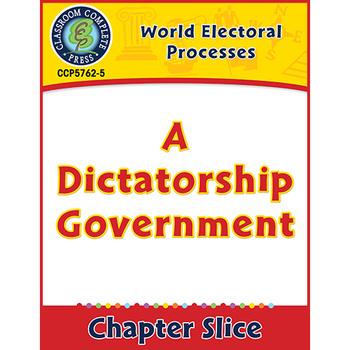 World Electoral Processes: A Dictatorship Government Gr. 5-8