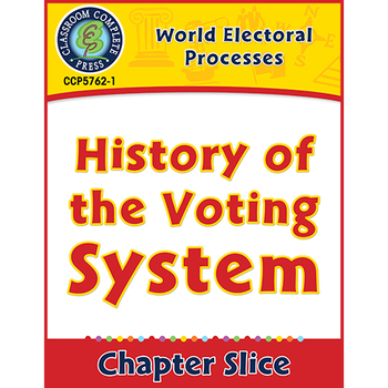 World Electoral Processes: History of the Voting System Gr. 5-8