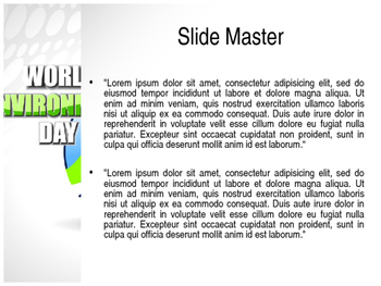 World Environment Day PPT Template