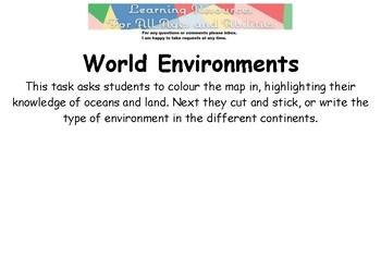 World Environments