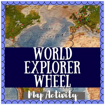 World Explorer Map Activity