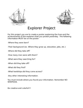 World Explorer Project