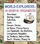 World Explorers Bundle Marco Polo and 18 Graphic Organizers