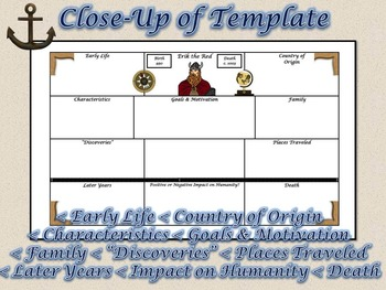 World Explorers Large 8.5x14 Research Activity Templates