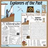 World Explorers of the Past Puzzles - Crosswords, Word Sea