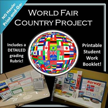 """World Fair """"Country Project"""" Unit"""