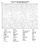 World Famous Mountain Names Word Search and Crossword with KEYs