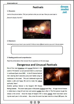 World Festivals Lesson Pack