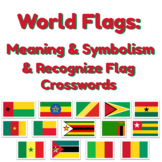 World Flags Meanings and Crosswords