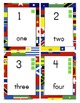 World Flags Classroom Labels and Signs